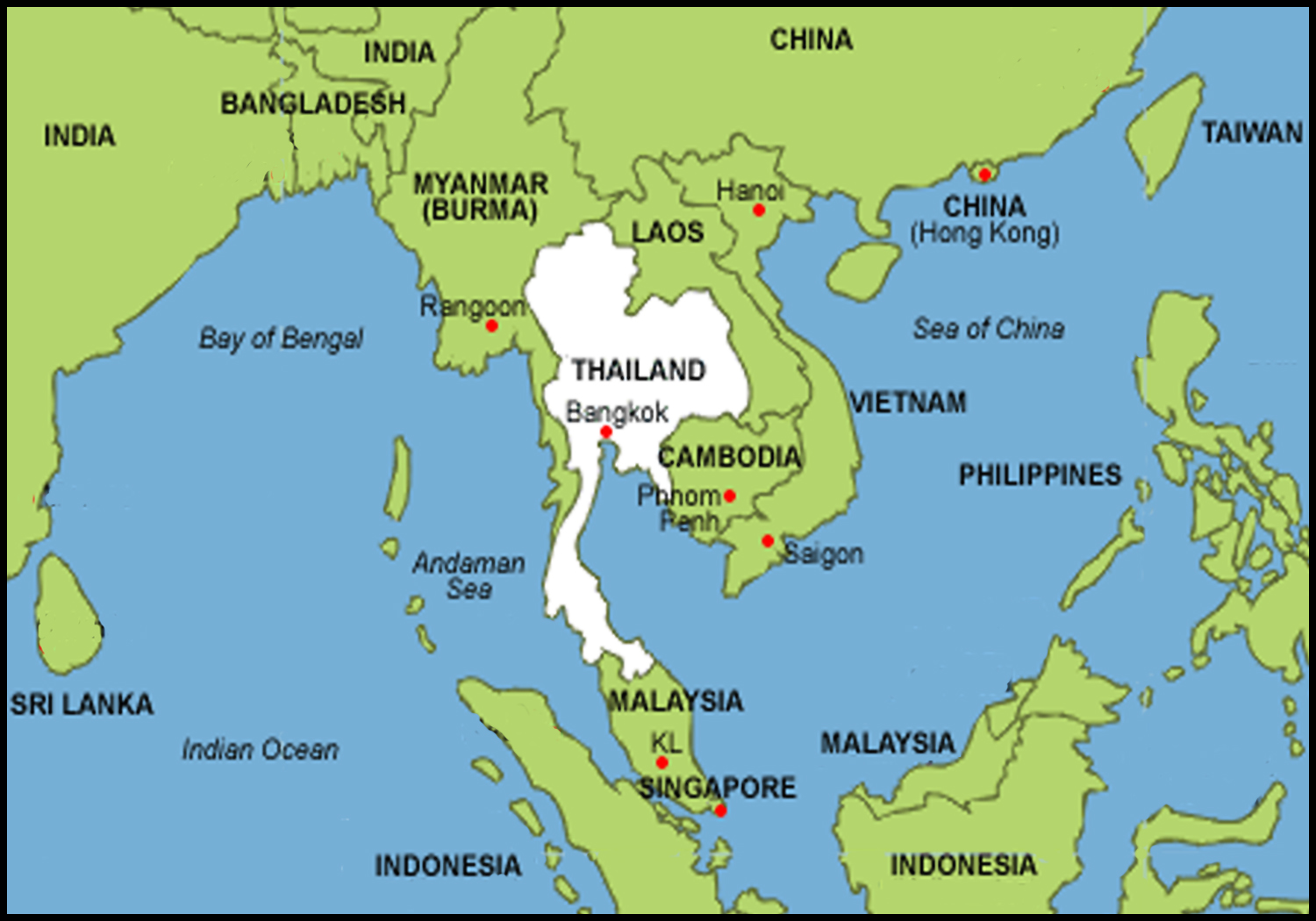Southeast Asia STONES OF HISTORY - Where is asia